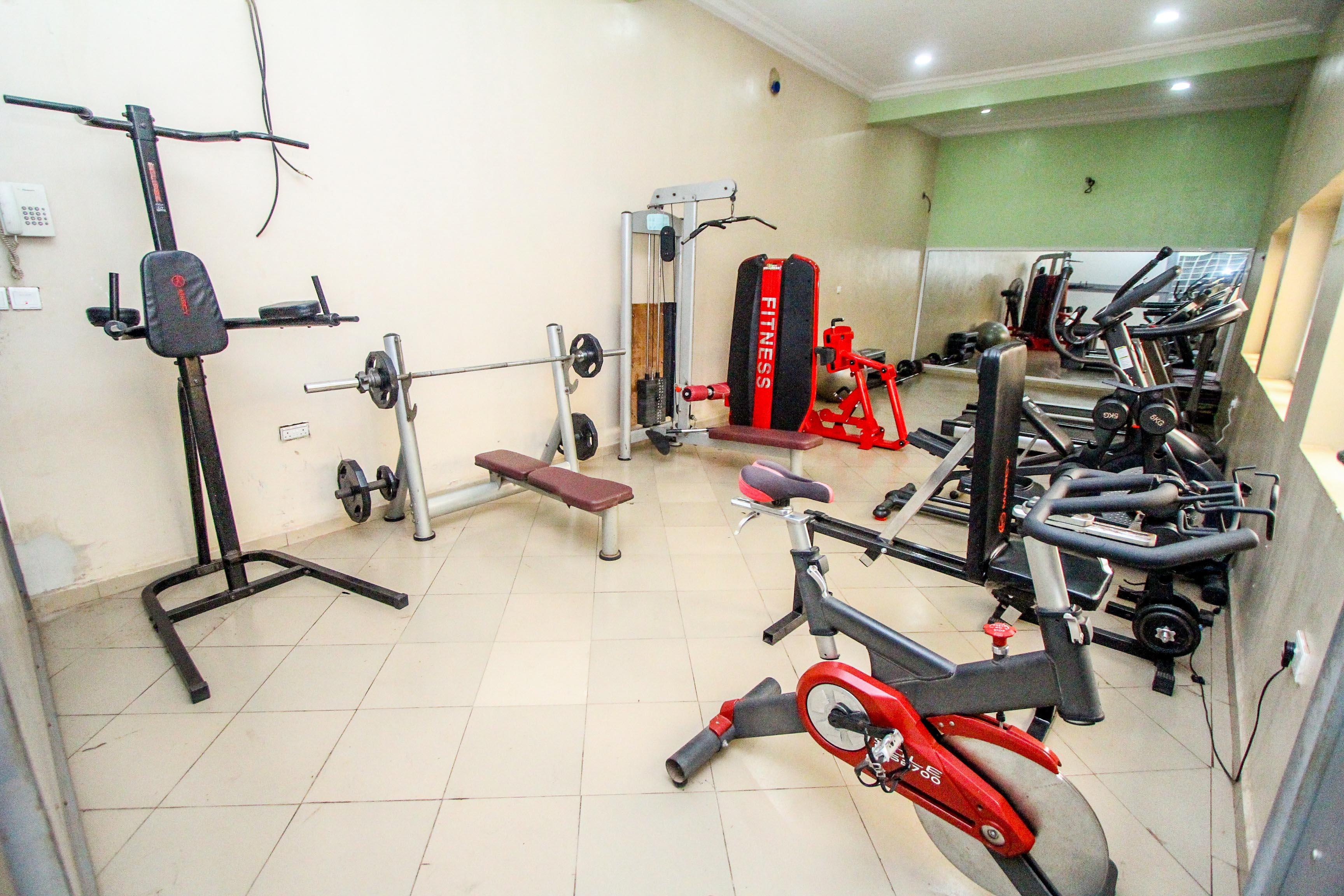 Aaron s fitness studio gym pool aaron s place
